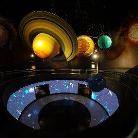 天文科學教育館.夜景情境模式