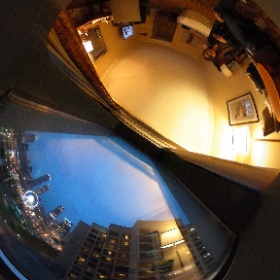 Omni Atlanta Hotel at CNN view  #theta360