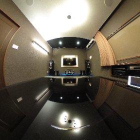 鳥取県倉吉市 ホームシアターインストールショップ ジパング サラウンドに天井スピーカー #theta360