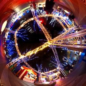 さいたま新都心 スーパーアリーナ前のケヤキ広場のイルミネーション。 #theta360