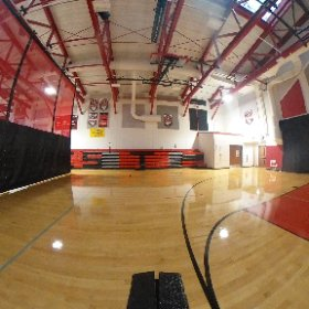 The second half of our gymnasium.