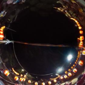 今日は寺宝院のお薬師様の祭りです盆踊りを舞台の上からの撮影です♪