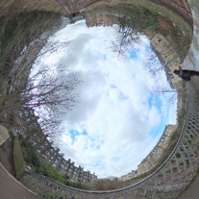HDR version of the view from Balcarres Street bridge #theta360