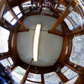 360°-Selfie in der Stuttgarter Stadtseilbahn. #enjoyStuttgart #theta360