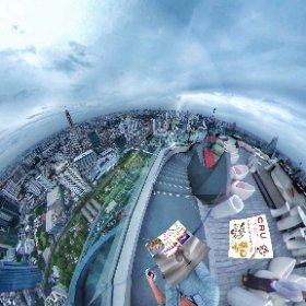 360 spherical  CRU Champagne Bar 60th flr Rooftop RedSky Bangkok, 360 degree open air SM hub https://goo.gl/qTaztW BEST HASHTAGS #CruChampagneBarBkk   #BkkRooftop    #1NightBkk   #BkkZoneSiam #Butterfly3d #theta360