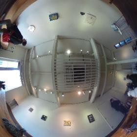 東京家政大の造形表現学科の助手さんたちのグループ展@十条FIND #theta360