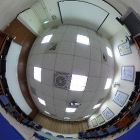 中華科技大學企業管理系 L1004經營策略暨決策分析教室 #theta360