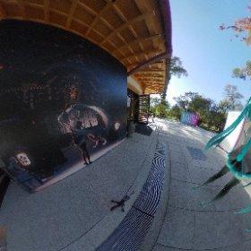 北野天満宮 イラスト展は最高でした。 お財布はだいぶ薄くなりました・・・ #KNF #miku360   #theta360