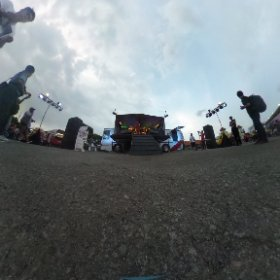 NOW PERFORMING!! MLD JAZZ PROJECT at MLD Stage Bus #jjf2016 #theta360