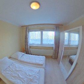FerienWohnung im Haus am Rügendamm, hier: Schlafzimmer #theta360