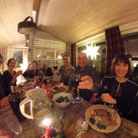 Boxing Day dinner in Norway.