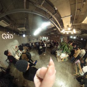 Tea labo green vol.6 @永田町GRID 17 March 2017 #theta360