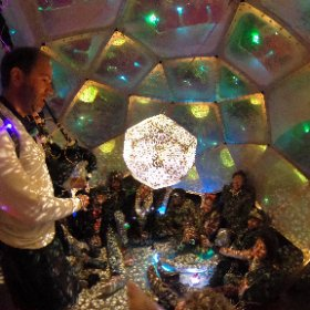 @HYBYCOZO - Starship Bistromath - Burning Man 2016 #theta360