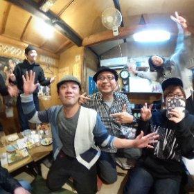 さようならBUBBLE-Bさん! たまには京都帰ってきてね! #theta360
