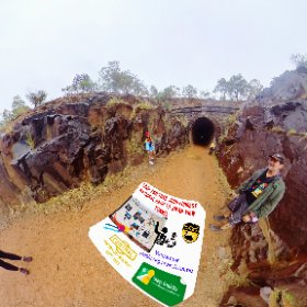 Swan View Tunnel opened 1895 the 340m tunnel was closed in 1960's https://trailsperthwa.com/SwanViewTunnel BEST HASHTAGS  #SwanViewTunnel  #HoveaWA  #TrailsPerthWA   #VisitPerthWA   #PerthAdventure   #WaTourism #WaAchiever #theta360