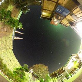 寄居PAにて。星が綺麗でした。東京は明るすぎる…。
