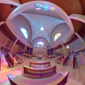 Kirche Maria Königin in Obersalbach  #theta360 #theta360de