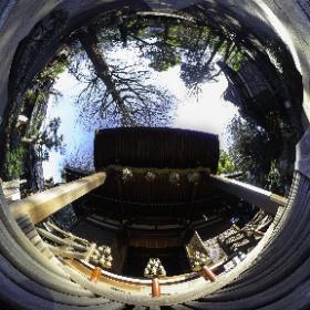 #Okusawa #Shrine #Japan #Today #tokyo  #theta360