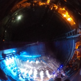 Backstage @Lovebox while Chase &  Status headline out front  #theta360