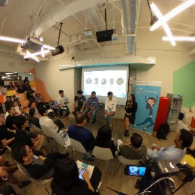 """At the """"I need a <br/>"""" event by @wantedly_intl at @SpaceMobCo"""