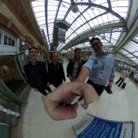 Introducing medical students Ruth,  Elsie and Jack to #360 and #VR in Primary care!  #theta360