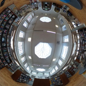 York Library and Archive, library area  #theta360