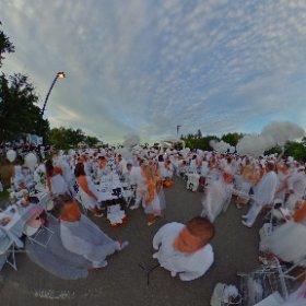 Diner en blanc 360 degre en direct  #theta360