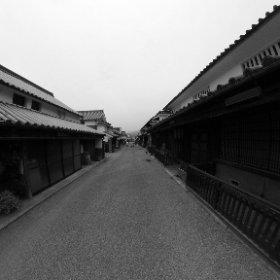 徳島県美馬市のうだつの町並み #theta360