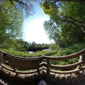 Aysgarth Lower Falls in the Yorkshire Dales National Park #yorkshire #river #waterfalls  #theta360 #theta360uk