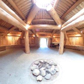 Pit house 1 #theta360