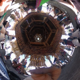 The #temple at #BurningSeed2018 #BurningSeed #BurningMan #theta360