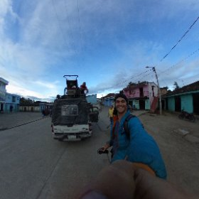 Bélen, mountain town in Huila, Colombia.  #theta360
