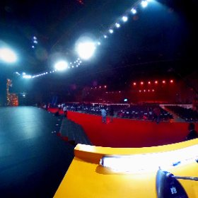 SIIMA (South India International Movie Awards) a picture from the podium of hosts. #RVRPRO #theta360