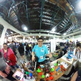 2018.11.04 Maker Faire Taipei 2018 - 香港 Parker Leung 老師的迷你 TinyBoy 3D 打印機又進化了!  全新改版的 mago 量產型 迷你3D打印機横空出世 。