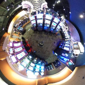 Stoney Nakoda Resort and Casino captured in 360 for viewing in Virtual reality. Casino experience brought to you by www.ThisIsMeInVR.com  #theta360