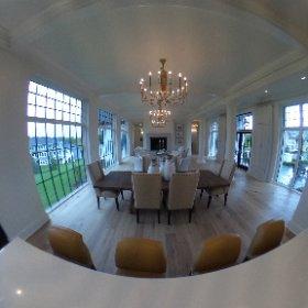 Carl M Hansrn Companies Fall 2016 Parade Home 360 degree photo, Gathering Room #theta360
