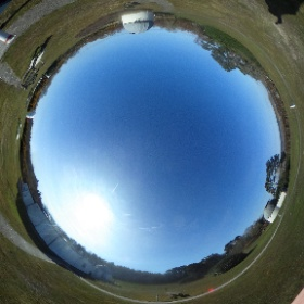 NLO in the sunshine this morning #theta360