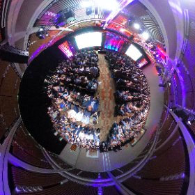 First day of #awe2018 was amazingly huge in contents, tomorrow opens the Expo zone Theta spherical photo #theta360