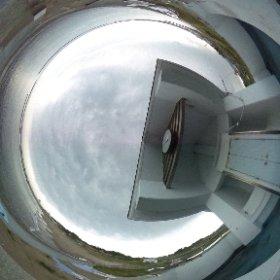 福島県相馬市の尾浜原釜海水浴場の様子です。こちらも昨年撮影したものです。尾浜原釜海水浴場は現在遊泳禁止となっています。 #theta360