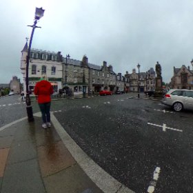 Huntly Square, Aberdeenshire, Scotland.