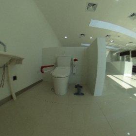 石家荘トイレと手摺 #theta360