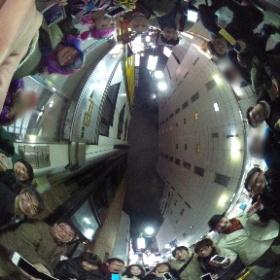 アプリ道場 忘年会の集合写真! #iPhoneアプリ開発講座  #theta360