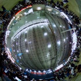東京ゲームショウ バウヒュッテ×ROG「デスク秘密基地化計画」ブース #TGS2018 #TGS2018デスク秘密基地化計画  #theta360