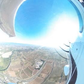 Mission photo sur le canal du Midi en Ulm CTSW Flight Design avec le pilote instructeur François Fabres (www.aerocsport11.com) au débpart de Lézignan-Corbières