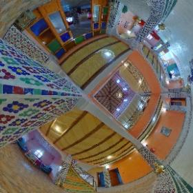 Hall d'accueil #Hotel Ksar Ljanoub #aitbenhaddou www.ksar-ljanoub.com