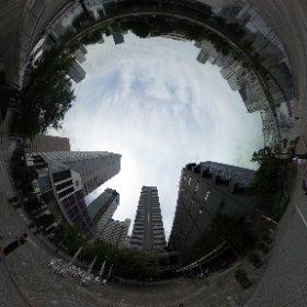 本日の東京日和 セクター3は、天王洲へ #theta360