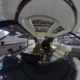 Welcome a board. #lyon #euroexpo #nautique #salon #theta360