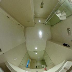Rove Hotel Dubai Trade Center, bathroom 714 #visitDubai #theta360