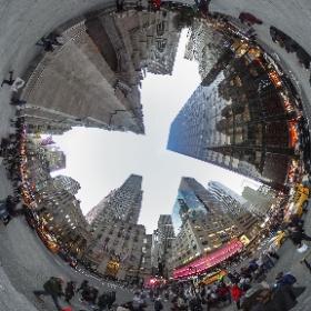 #NewYorkCity #StPatricksCathedral #360photo from #BCPix.com #RicohTheta #ThetaS #theta360