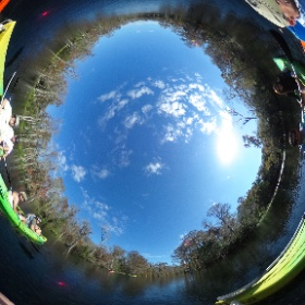 Kayaking on Silver Springs Run  #theta360